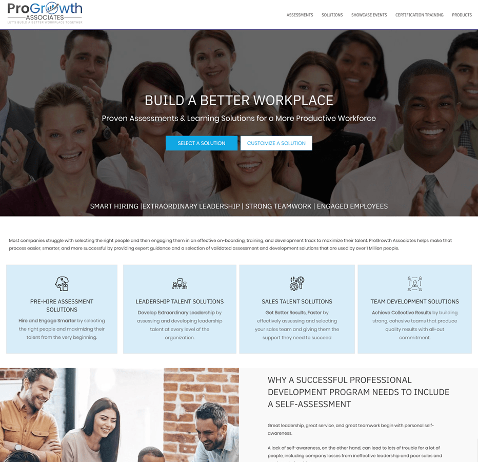 Progrowth Associates WordPress redo.